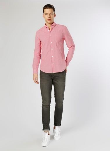 Limon Company Uzun Kollu Gömlek Kırmızı